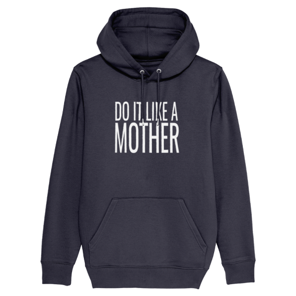 Do It Like a Dad Hoodie (Large White Logo/various colours)