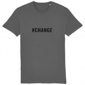 CHANGE Unisex T-Shirt – Black Logo