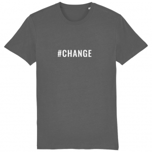 CHANGE Unisex T-Shirt – White Logo