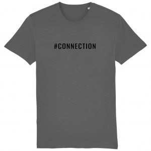 CONNECTION Unisex T-Shirt – Black Logo
