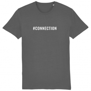 CONNECTION Unisex T-Shirt – White Logo