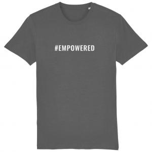 EMPOWERED Unisex T-Shirt – White Logo