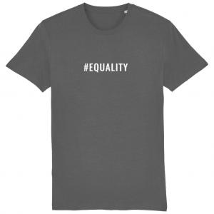 EQUALITY Unisex T-Shirt – White Logo