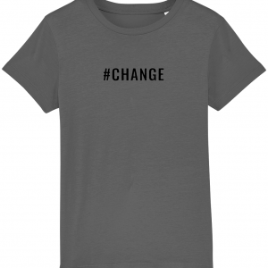CHANGE Kids T-Shirt – Black Logo